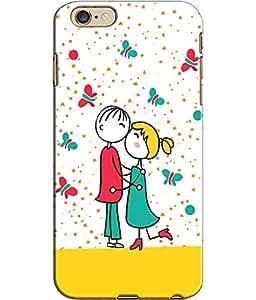 EU4IA - I PHONE 6 PLUS - PRINTED BACK COVER CASE - MATTE FINISH
