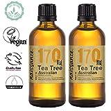 Naissance Teebaumöl Australisch 200ml (2x100ml) 100% naturreines ätherisches...