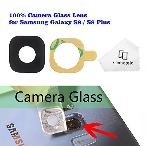 Cemobile Hinter Kamera Glas linse Abdeckung Kameraobjektiv mit Klebstoff Für Samsung Galaxy S8 / S8 Plus