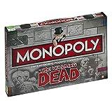 The Walking Dead - Monopoly versión EN INGLÉS (Talla...