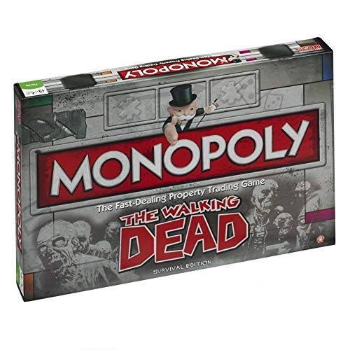 The Walking Dead - Monopoly versión EN INGLÉS Talla