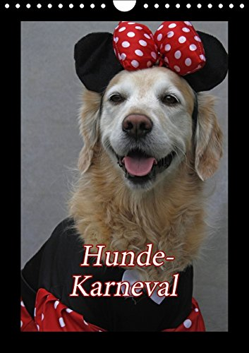 Hunde-Karneval (Wandkalender 2015 DIN A4 hoch): Zwei Hunde feiern Karneval (Monatskalender, 14 ()