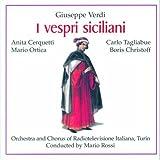 Verdi : I vespri siciliani 1955. Rossi, Tagliabue, Zorgnotti, Christoff, Ferrein, Ortica.