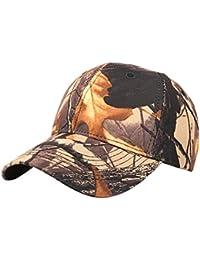 INTERNET El camuflaje al aire libre ocasional de los hombres de las mujeres se divierte la gorra de béisbol
