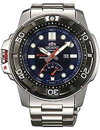 Orient SEL06001D0 M-Force Power Reserve - Reloj automático de pulsera para hombre (con reserva de carga, cristal de zafiro, cuerda manual e indicador de fecha)