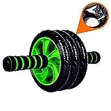 Attrezzatura Sportiva Best Deals - Stoga STA001 3 rotella di ab Rulli addominale attrezzatura sportiva con comodo, maniglie Easy Grip