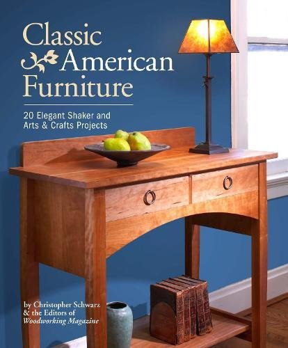 Holz-design-magazin (Classic American Furniture: 20 Elegant Shaker and Arts & Crafts Projects)