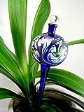 Bunte Bewässerungskugel blau -Durstkugel für Blumen -1-12 Deko Garte...