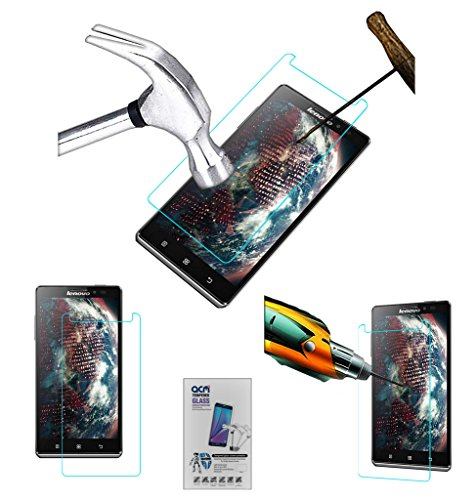 Acm Tempered Glass Screenguard for Lenovo Vibe Z K910l Screen Guard Scratch Protector  available at amazon for Rs.179