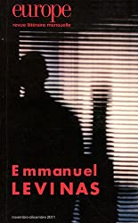 Europe, N° 991-992, Novembre : Emmanuel Levinas