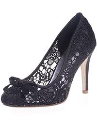 L@YC 5623-10 Zapatos De La Boda De Las Mujeres / Cordones De La Comodidad / Punta Cerrada / Fiesta Nocturna Y...