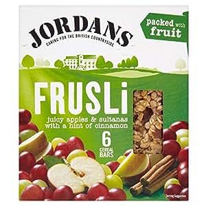 Jordans Barres De Céréales Frusli Pomme , Sultane Et La Cannelle (6X30G)