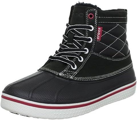 crocs AllCast Duck Boot 12586-066, Herren Chukka Boots, Schwarz (Black/White 066), EU 48-49 (UK 12)