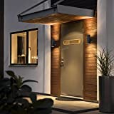 Modern-Black-Double-Up-Down-Outdoor-Stainless-Steel-Wall-Light-Use-GU10-IP65