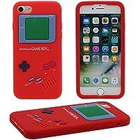 iPhone 7 Hülle, Dünn & Leicht Prämie Weich Silikon Kunststoff Original Klassisch Game Boy 3D Gestalten Serie Schutzhülle Case Anti-Schock für Apple iPhone 7 4.7 inch