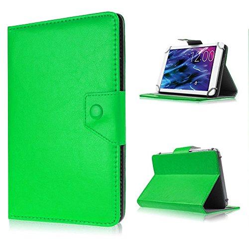 Tablet-Schutz-Tasche-Hülle für Xoro TelePAD 9A1 Pro Case Cover Ständer Farbwahl , Farben:Grün