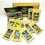 Tee Geschenk Set für Tee Trinker (10x7 Tassen) | Tee Präsentkorb Geschenkidee für Frauen Männer Freund Freundin Ihn Sie | Geschenkset Geburtstag