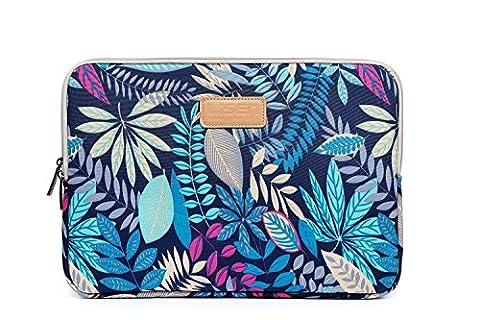 AreTop® Housse Sacoche pour iPad Tablet Ordinateur Portable Plusieurs Patterns et Tailles (12 pouces, Bleu