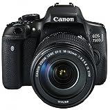 Canon EOS 750D SLR-Digitalkamera (24 Megapixel, APS-C CMOS-Sensor, WiFi, NFC, Full-HD) Kit inkl. EF-S 18-135 mm IS STM Objektiv schwarz - 4