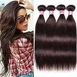 Best Grade Of Human Hair Weave - 12''X4, 2# Bundles: Xccoco Hair Peruvian Straight Hair Review