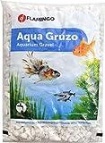 FLAMINGO Gravier Splitz pour Aquarium Blanc 1 kg