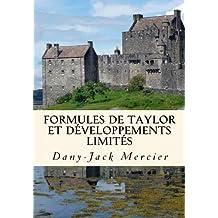 Formules de Taylor et développements limités (Dossiers mathématiques)