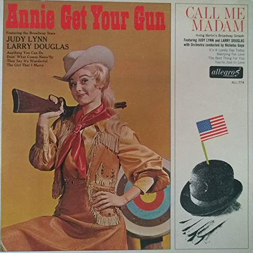 Annie Get Your Gun - Call Me Madam - Soundtrack / Judy Lynn, Larry Douglas LP