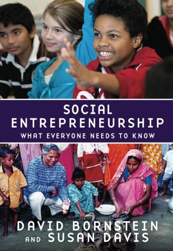 Social Entrepreneurship: What Everyone Needs to Know® por David Bornstein