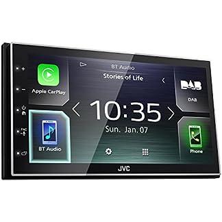 JVC-KW-M745DBT-Digital-Media-Receiver-mit-173-cm-kapazitivem-Touch-Panel-DAB-und-Bluetooth-Schwarz