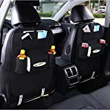 MEJOY Lagerung Paket Autositz Lagerung Tasche Multifunktion Lagerung Taschen Aufbewahrungs tasche Black