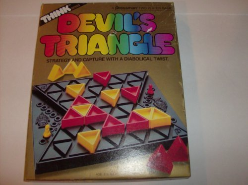 Devils Triangle a Strategy Thnking Game for 2 Players by Pressman
