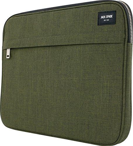 Zip Sleeve für z.B. Apple MacBook / iPad Pro / Microsoft Surface - olive [Universal 13