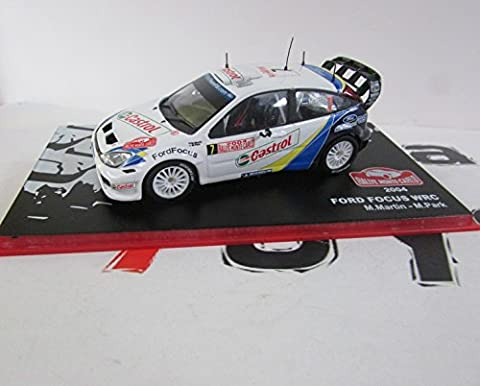 Ford Focus WRC - Nr. 7 - Markko Märtin / Michael Park - Rallye Monte Carlo 2004 (1:43)