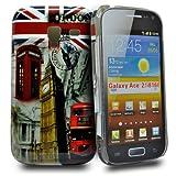 Accessory Master London View Hart Schutzhülle für Samsung Galaxy Ace 2 i8160 rot