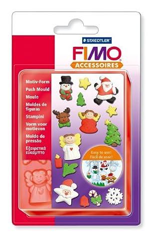 Staedtler - Fimo Accessoires - Moule Flexible en Silicone 15 Motifs