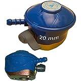Barbacoa calentador 28 m de bombona de butano regulador de Gas para 20 mm carcasa rígida botella