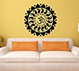 Asmi Collections Wall Stickers OM and Swastik