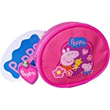 Girl's Pink Peppa Pig & Friends Coin Carry Travel Purse