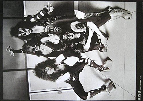 Kiss Poster Amsterdam 1976