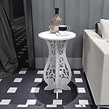 HTZ Europäisch-artiges selbstgemachtes Einschicht-Blütenregal Indoor-Wohnzimmer Schlafzimmerboden weißer Blumenständer +