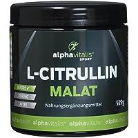 L-Citrullin Malat Pulver + Magnesium-Citrat - 539g - vegan - Fitness und Bodybuilding - Qualität made in Germany