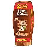 Garnier Ultra Dolce Balsamo al Cacao e Olio di Cocco per Capelli Lisci o da Lisciare, Senza Parabeni, Estratti Naturali, 250 ml [Confezione da 2]