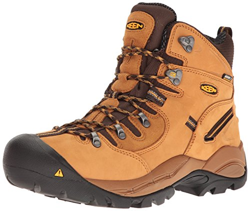 Keen Utility Men's Pittsburgh Industrial and Construction Shoe, Wheat, 10 2E US Keen Men 10