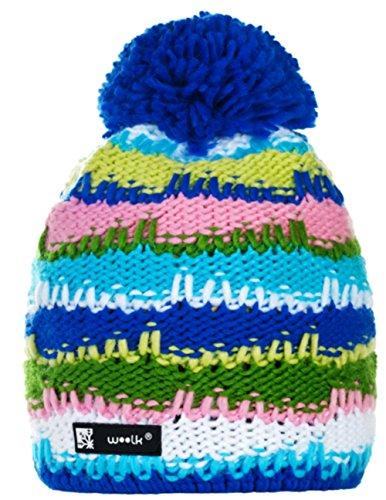 Unisex Beanie hat Bonnet d'hiver chaud Fashion SKI SNOWBOARD Sport doublure polaire 100% Laine (Bruno 21) Bruno 25