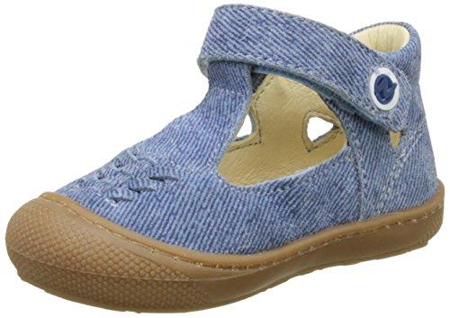 Naturino Baby Jungen 4408 Lauflernschuhe Blau (Jeans)