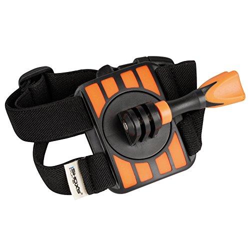 iSHOXS Hand Strap, flexibel einstellbarer Hand-/Arm Strap für GoPro Hero und kompatible Action-Cams, mit Antirutsch-Inlet, geeignet für Neoprenanzüge
