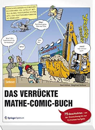 Das verrückte Mathe-Comic-Buch: 75 Geschichten - von der Zinsrechnung bis zur Extremwertaufgabe