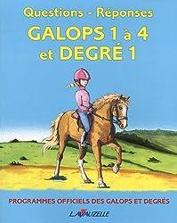 Questions/réponses Galops 1 à 4 et degré 1