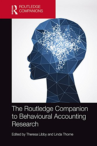 The Routledge Companion to Behavioural Accounting Research (Routledge Companions in Business, Management and Accounting) (English Edition)