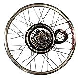 Generic Écran LCD 48 V 800 W Roue avant de vélo pour moteur Electrique DIY Kit de réparation pour vélo vélo électrique